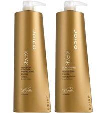 JOICO K-PAK Shampoo & Balsamo Duo 2 x 1000ML + GRATIS Pompe per i capelli danneggiati