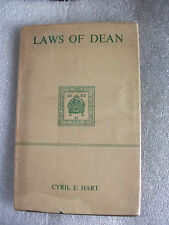 Laws of Dean ( Forest of Dean)