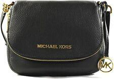 👜 Michael Kors Women's Bedford Crossbody Leather Handbag Fashion Dining Casual