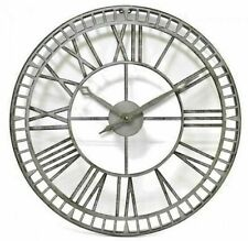 Jonart Design Metal works 61cm Outdoor Clock. Indoor, Outdoor, Big Round CL003