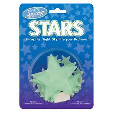 12 stelle luminose Glow stars dimensione da 2,5 a 8,5 cm.