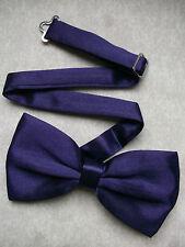 GOTHIC PURPLE Bow Tie HALLOWEEN Mens NEW Bowtie Adjustable Dickie