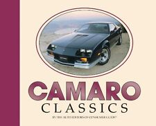 Chevrolet CAMARO Classics brand new book--factory info, spec's, lots of photos