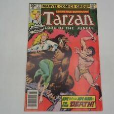 Marvel Comic Tarzan #2 Edgar Rice Burroughs 1977