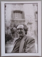 Photo Portrait de l'Ecrivain Jean Claude Izzo Vers 1995