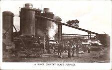 Bilston area. A Black Country Blast Furnace # 391 by John Price & Sons.