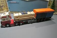 1.50 SCALE HANDCRAFTED  MIXED LOAD INC SHIPPING CRATE, TIMBER AND A PART LOAD,