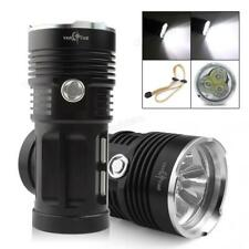 SkyRay Waterproof 60W 3x CREE XM-L T6 LEDs 3 Mode 8000LM LED Flashlight Torch
