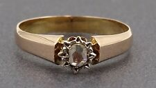 Pretty 18ct Rose Gold and Diamond Ring - A Gorgeous Engagement or Wedder