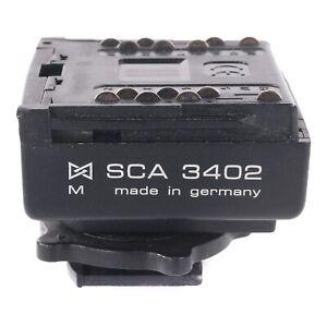 Metz SCA 3402 Flash adapter for Nikon FA FE FE2 F100 F4 F5 F90 F80 FG FG20 etc.