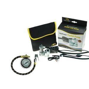 Rocky Creek 12V MotoPressor Pump and Motopressor Tyre Gauge Good For Track Days