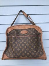 Louis Vuitton Vintage Monogram Travel Carry-on Bag Tote Steampunk Satchel