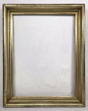 Antique Late 19th C Lemon Gold Gilt Frame 20 x 26 Opening