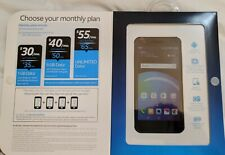 New listing Factory Sealed At&T Lg Phoenix 4 Unlimited Data No Contract Prepaid Smartphone
