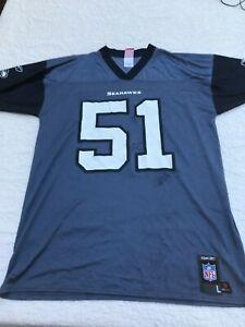 Reebok NFL Seattle Seahawks Lofa Tatupu NFL Players Jersey Size Large