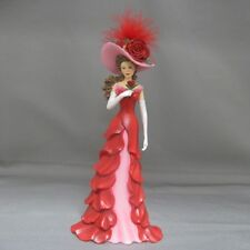 Ravishing as a Rose Lady Figurine - Bradford Exchange Blooming Beauties