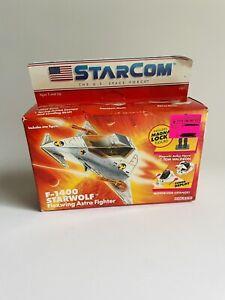 STARCOM Fighter F 1400 Starwolf Tom Waldron U.S. Space Force Coleco NEW 1986