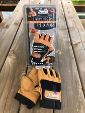 Schiek Sports Model 415 Power Series Weight Lifting Gloves - Size  L - Brand New