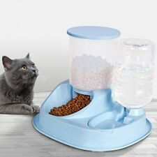Bowl Feeder Pet Dog Cats Puppy Automatic Water Dispenser Drinking Bottle Food
