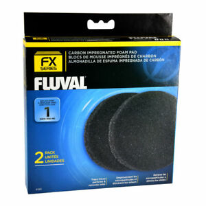 FLUVAL Carbon Impregnated  Foam Filter Pads for FX Series   A249