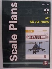 Scale Plans No. 39 Mil Mi-24 Hind by Mushroom Model Publications
