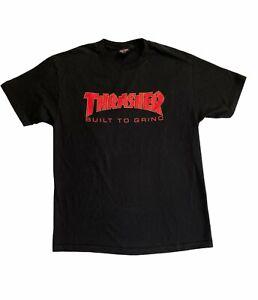 ⭐NWOT Independent x Thrasher BTG BUILT TO GRIND Skateboard T Shirt BLACK LARGE⭐