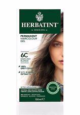 HERBATINT HERBAL NATURAL HAIR DYE DARK ASH BLONDE 6C 150ml - AMMONIA FREE