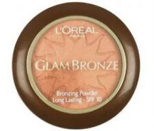 L'Oreal Glam Bronze Bronzing Powder Long Lasting Bronzer 01 Golden Sun (3 PACK)