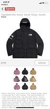 Supreme The North Face Cargo Jacket BLACK SIZE LARGE ORDER *CONFIRMED* SS20