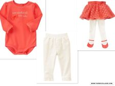 GYMBOREE Girls 3 Piece BEARY NEW  Pants and Tutu Outfit NWT SIZE 18-24 Mths