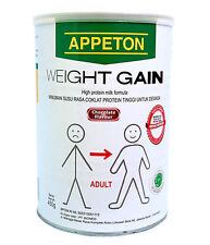 New Milk Powder Appeton Weight Gain Adult Chocolate Flavor 450gr