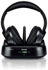 Philips SHC8575 Kopfhörer kabellos/Wireless Bassverstärkung Dockingstation +++