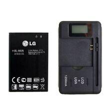OEM Battery BL-44JN + Charger for LG Optimus Zone E400 Optimus L3 E400 L5 E612
