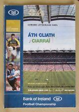 GAA 2007 - Dublin v Kerry Senior Football Semi Final Programme