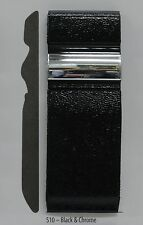 S10 Universal Body Molding 2.62 inch wide Black w Chrome accent 20' long