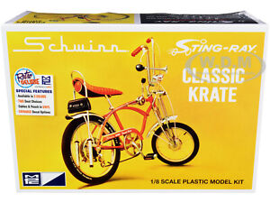 SKILL 2 MODEL KIT SCHWINN STING-RAY 5-SPEED BICYCLE 1/8 SCALE BY MPC MPC914