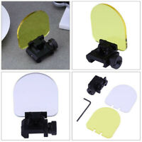Protector Airsoft Lens Sight Cover Shield Panel Screen 20mm Rail For Rifle Scope