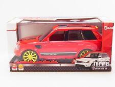 LOT 31794 Geländewagen 25cm SUV 1:16 PKW Licht +Friktionsantrieb Rot NEU in OVP