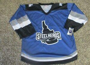 Idaho Steelheads ECHL Alternate Jersey Large nwt