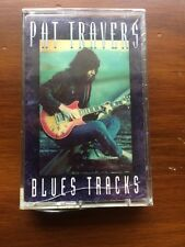 Pat Travers - Blues Tracks CASSETTE SEALED robin trower metallica iron maiden