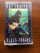 Pat Travers - Blues Tracks CASSETTE SEALED robin trower metallica iron maiden