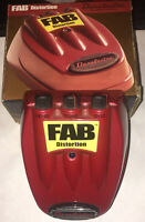 Danelectro Fab Distortion Electric Effects Pedal W/ Box RED *USA*