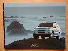 Infiniti QX4 Orig 2000 Usa Mkt Prestige folleto de ventas