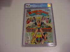 """WONDER WOMAN #1 CGC 9.6 NM 1987 WP GEORGE PEREZ """"1984 MOVIE"""" FREE SHIP"""