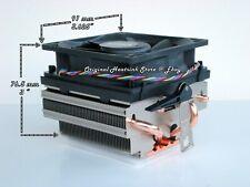 AMD HEATSINK COOLER FAN FOR FX - PHENOM II X4 - X6 CPU SOCKET AM3-AM2-AM2+  NEW
