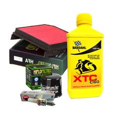 Kit tagliando Bardahl XTC 10W40 filtro area olio candele Honda XL 1000 Varadero