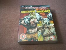 The Borderlands Collection 1 & 2 New Sealed Box PS3 Games Playstation 3 Sony