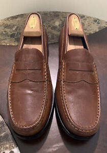 Cole Haan Pinch Friday Woodbury Handstain 11 M C23845 Penny Loafers