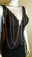 100% AUTHENTIC NWT BEBE BODY CHAIN NECKLACE