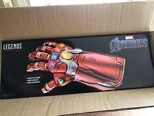 Avengers Marvel Legends Red Power Gauntlet Endgame Hand ThinkGeek Exclusive